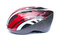 Isolated Cycling Helmet Stock Images
