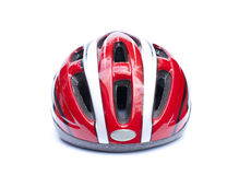 Isolated Cycling Helmet Royalty Free Stock Photography