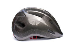 Isolated Cycling Helmet Stock Image