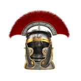 Isolated 3d illustration of a Roman Helmet Royalty Free Stock Photography