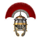 Isolated 3d illustration of a Roman Helmet Stock Photography