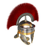 Isolated 3d illustration of a Roman Helmet Stock Images