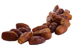Isolated dates. Royalty Free Stock Photo