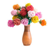 Isolated deads flowers bouquet Royalty Free Stock Photo