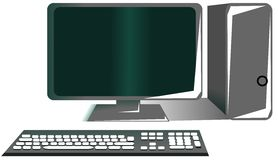 Isolated desktop Stock Images