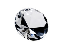 Isolated Diamond Royalty Free Stock Images