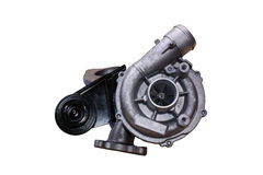 Isolated diesel Turbo Royalty Free Stock Photos