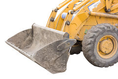 Isolated digger Royalty Free Stock Images