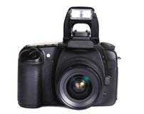 Isolated digital camera Royalty Free Stock Images