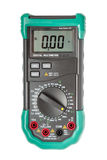 Isolated digital multimeter top view Royalty Free Stock Images