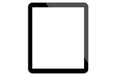 Isolated Digital Tablet Stock Image