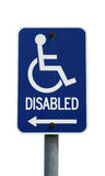 Isolated disabled sign Stock Photography