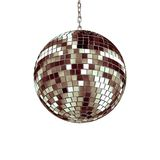Isolated disco ball Stock Photography