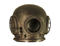 Isolated diving helmet Stock Photos