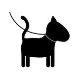 Isolated dog mascot design Royalty Free Stock Image