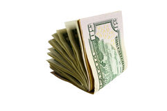 The isolated dollars Royalty Free Stock Photo