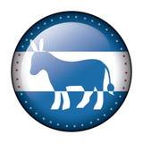 Isolated donkey of vote design Royalty Free Stock Photography