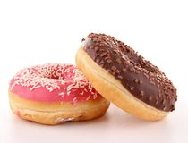 Isolated donuts Stock Images