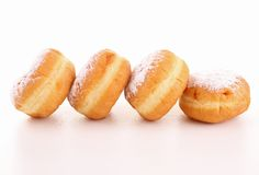 Isolated donuts Stock Photography