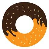 Isolated doughnut icon Royalty Free Stock Photos