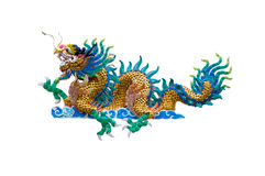 Isolated Dragon Royalty Free Stock Photography