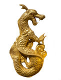 Isolated Dragon decoration on censer Stock Image