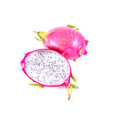 Isolated dragon fruit Stock Photo