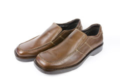 Isolated dress shoes Royalty Free Stock Photo