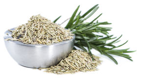 Isolated dried Rosemary Royalty Free Stock Photography