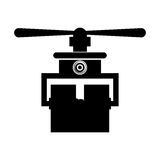 Isolated drone design Royalty Free Stock Photography