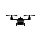 Isolated drone design Royalty Free Stock Image