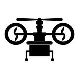 Isolated drone design Stock Photos