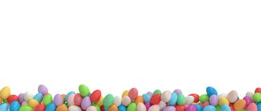 Isolated easter eggs vector illustration