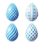 Isolated Easter eggs Stock Image