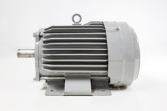 Isolated electric motor. On the white background royalty free stock photos