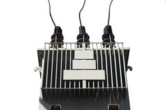Isolated Electric transformer Stock Images