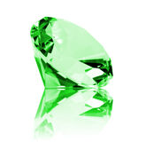 Isolated Emerald Royalty Free Stock Image