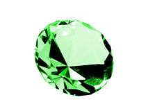 Isolated Emerald Royalty Free Stock Photography