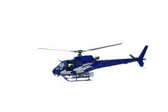 Isolated Emergency Rescue Helicopter Stock Photos