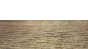 Isolated empty dark brown wooden table for product placement in restaurant. Empty dark brown wooden table for product placement in street food restaurant Royalty Free Stock Images