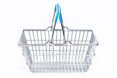 Isolated Empty Shopping Basket Royalty Free Stock Images