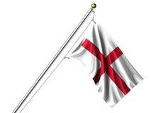 Isolated English Flag Stock Photo