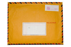 Isolated envelope Stock Photo