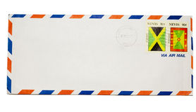 Isolated envelope Stock Photography