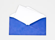 Isolated envelope Royalty Free Stock Photo