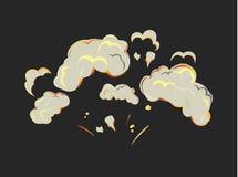 Isolated explosion icon. Stock Photo