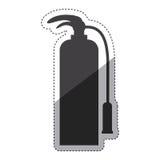 Isolated extinguisher design Stock Photos