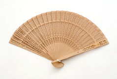 Isolated Fan. On White Background Stock Image