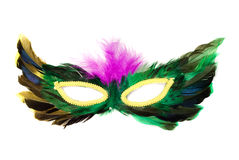 Isolated Feather Mask Royalty Free Stock Photo
