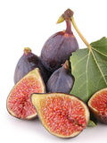 Isolated figs Stock Photography